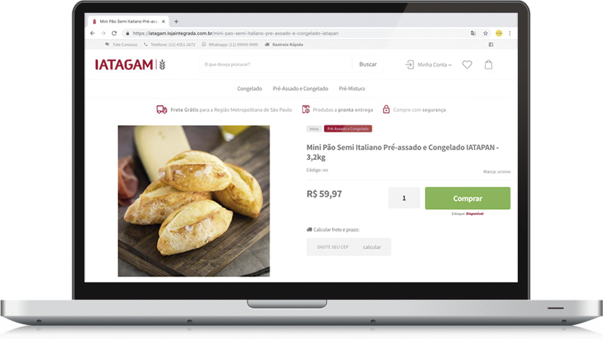 IATAGAM - Loja eCommerce
